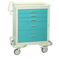 5 drawer crash cart with two tone color scheme