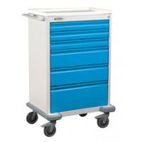 Deluxe Six Drawer Anesthesia Cart