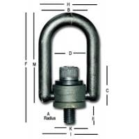 American Heavy Duty Hoist Rings