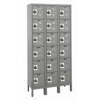 Six Tier Box Style With Built In Combination Locks
