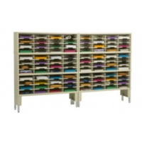 96 pocket sorter with risers