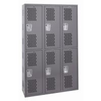 All Welded Double Tier Lockers