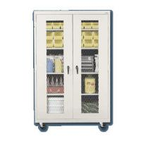 Expanded Metal Front Mobile Storage Cabinets