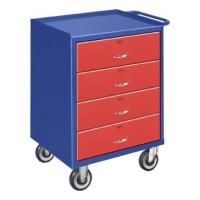Bigblue Four Drawer Mini Mobile Cabinets