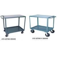 Jamco Two Shelf Heavy Duty Cart With Horizontal Handle