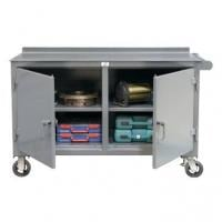Kingcab Two Door Mobile Carts With Shelves