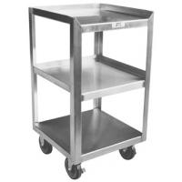 Three Shelf Stainless Steel Mobile Stand