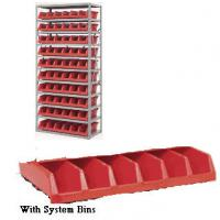 Shelving With Akro System Bins