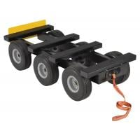 all terrain dolly six wheel
