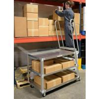 aluminum ladder picking carts