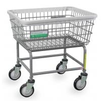 antimicrobial laundry cart