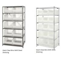 Giant Clear Storage Bins And Shelving