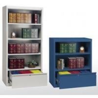 bookcase with file drawer