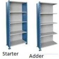 Deluxe Closed Industrial Shelving