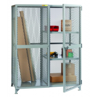 combination storage locker