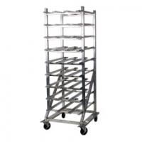 162 Can Capacity Mobile Can Rack