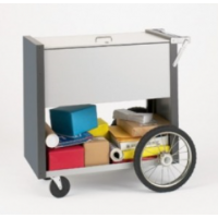 deluxe cart with locking top