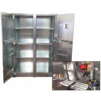 double door galvanized steel cabinet v2