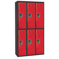 double tier stylish hallowell lockers
