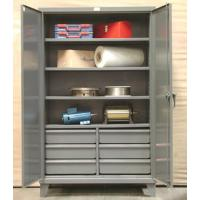 Kingcab Heavy Duty Storage Cabinets With Drawers In Lower Half
