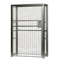 galvanized wire security cabinet