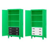 Three Drawer Green Monster Steel Cabinet