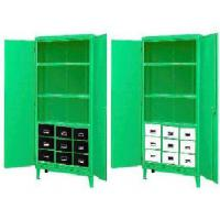 Nine Drawer Green Monster Steel Cabinets