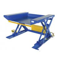ground lift scissors table
