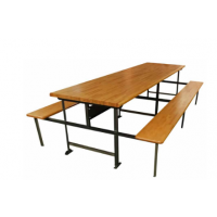 industrial lunch table
