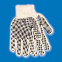Men S Pvc Dotted String Knit Gloves