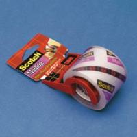 Economy Size Box Sealing Film Tape In Plastic Dispenser