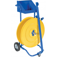 manual pallet probe strapping cart
