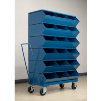mobile stack bins
