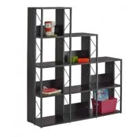 multi level book case black object