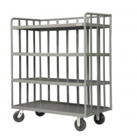 open portable shelf carts