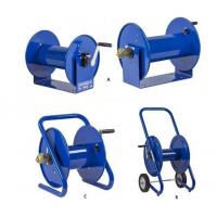 portable and fixed mount hand crank hose reels
