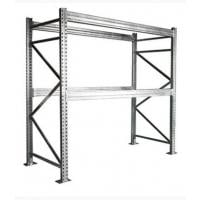 pre configured galvanized pallet rack