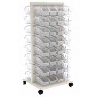 Akro Readyspace Mobile Bin Rack