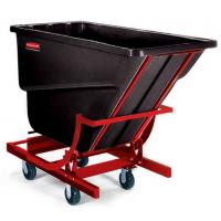 rubbermaid self dumping hopper