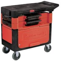 rubbermaid trade cart