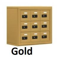 smartphone locker gold