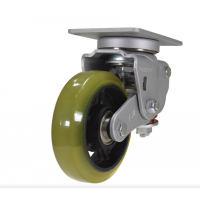 spring loaded towing casters