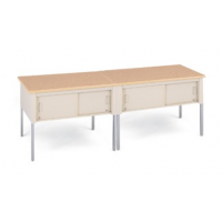 standard table with sliding doors 96