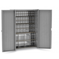 storage cabinets with tip out bins