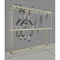 tail pipe storage unit