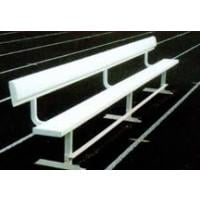 Aluminum Frame Team Benches With Backs