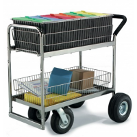 wire basket cart