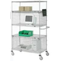 Wire Shelving With Security Enclosure
