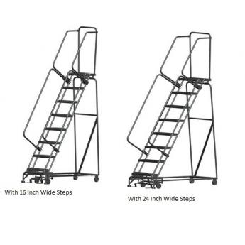 Industrial Rolling Ladders Freight Saver Design