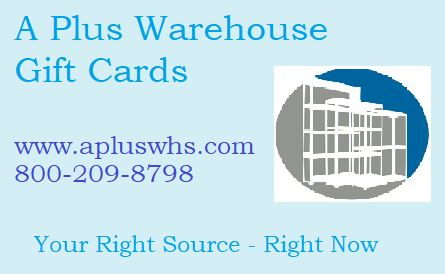 a plus warehouse gift card